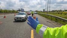 It comes after gardai, along with other State agencies, carried out 42 roadside checks between March 1 and mid-July aimed at identifying people who may be engaged in tax evasion, road traffic or road safety irregularities. Photo: Mark Condren