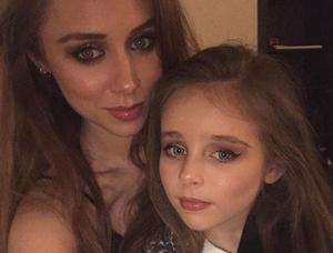 Una Healy and daughter Aoife Belle. PIC: Una Healy/Instagram