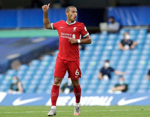 Liverpool's Thiago Alcantara slotted into the team without fuss during the Premier League match against Chelsea at Stamford Bridge. Photo: Getty Images
