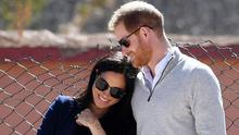 Meghan and Harry.  PIC: SussexRoyal/Instagram