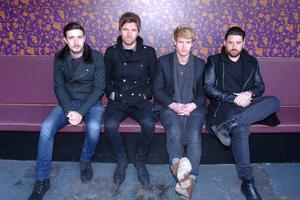 Kodaline who launch their new album 'Coming Up for Air' on Friday pictured in Dublin