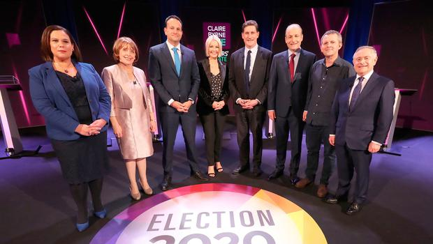 'The last few days of the campaign will put a definite colour on our 40 shades of grey, and, in turn, on the next government.' Photo: Niall Carson/PA Wire