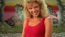 Kylie Minogue in the Locomotion video - 1988