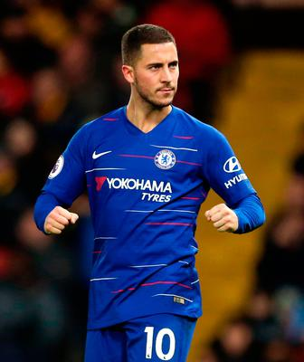 Hazard is out of contract in 2020. Photo: Steven Paston/PA Wire
