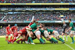 Ireland's maul has been hugely successful so far and Joe Schmidt is unlikely to change a winning formula