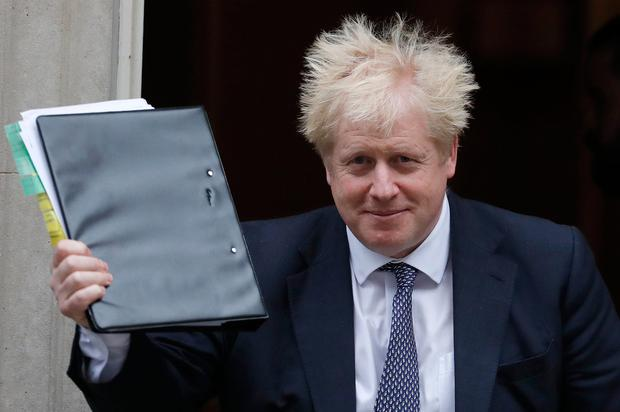Fast-track: Boris Johnson wants to do the Brexit deal at the earliest date. Picture: AP