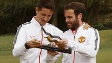 Ander Herrera and Juan Mata came out on top
