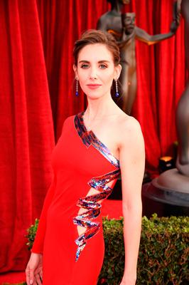Alison Brie attends the 24th Annual Screen Actors Guild Awards at The Shrine Auditorium on January 21, 2018 in Los Angeles, California.  (Photo by Dimitrios Kambouris/Getty Images for Turner Image)