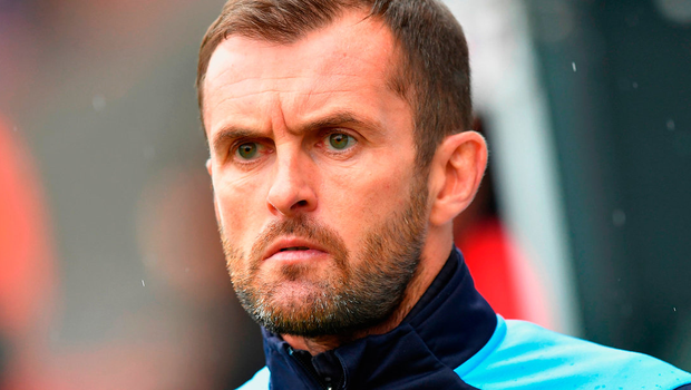 Nathan Jones has left Luton Town to move up a division with Stoke City Photo: Dave Howarth/PA Wire