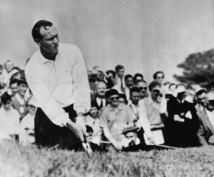 'When Palmer had his uncertain spell, Snead produced magnificent figures to keep them in front, and when he himself began to show his years, Palmer stood as firm as a rock and piloted the ship safely home.' Photo: PGA of America via Getty Images