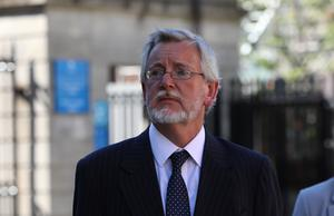 Solicitor Declan O'Callaghan, pictured leaving the Four Courts  Pic: Collins Courts