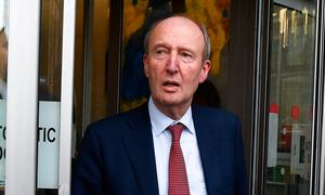 Outgoing Sports Minister Shane Ross. Photo: Harry Murphy/Sportsfile