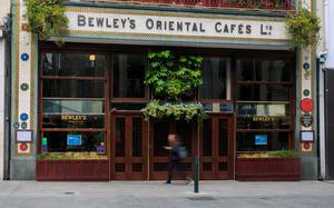 End of an era: Bewley's Café on Grafton Street, Dublin. Photo: Collins