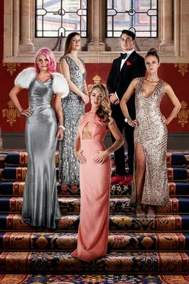 Some of the Made in Chelsea newbies - Emily, Millie, Jess, JP, and Fleur