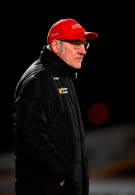 Tyrone manager Mickey Harte. Picture credit: Paul Mohan / Sportsfile