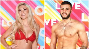 Paige Turley and Finley Tapp win Love Island (ITV)