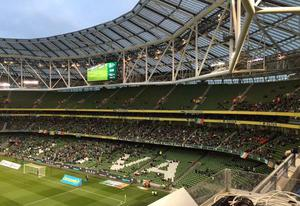 Attendances for Ireland friendly games at the Aviva Stadium have been disappointing in recent years