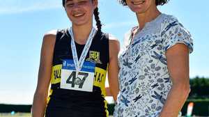 Sophie O'Sullivan with her mother, Sonia