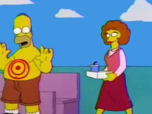 Maude Flanders in The Simpsons