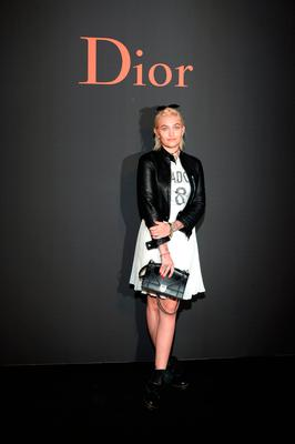 Paris Jackson attends  the Dior Homme Menswear Fall/Winter 2017-2018 show as part of Paris Fashion Week on January 21, 2017 in Paris, France.  (Photo by Francois Durand/Getty Images)