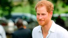 Prince Harry arrives for the unveiling of the dedication to The Queen's Commonwealth Canopy and Arbour Day Fair at Queen Victoria Park Botanical Gardens on the third day of an official visit on November 22, 2016 in St John's, Antigua and Barbuda.