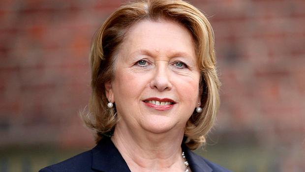 Former president Mary McAleese. Photo: Gerry Mooney