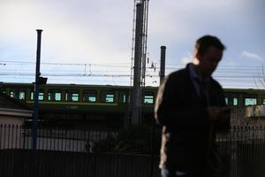 Commuters have been forced to make alternative travel plans (picture: Mark Condren)