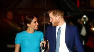 Prince Harry and Meghan Markle. Photo: REUTERS/Hannah McKay