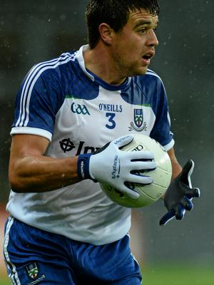 A suspected cruciate ligament injury is likely to see Monaghan's Drew Wylie miss the rest of the season