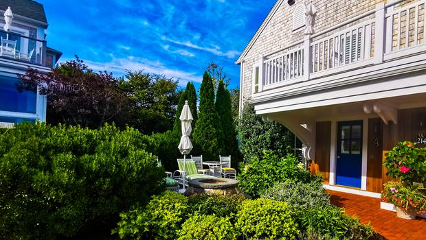A cottage at Wequasset Resort in Cape Cod, Massachusetts. Picture: Caitlin McBride
