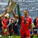 European champions Saracens have been relegated from the Gallagher Premiership following salary cap breaches. Photo by Brendan Moran/Sportsfile