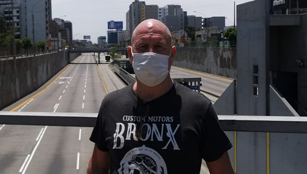 Dublin man Liam Whelan (60), who is stranded in Peru with his family