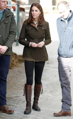 Britain's Prince William and his wife Catherine, Duchess of Cambridge, visit the Teagasc research farm in County Meath, Ireland March 4, 2020. REUTERS/Phil Noble