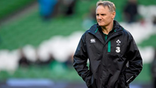 Ireland head coach Joe Schmidt is recovering in hospital after having his appendix removed.