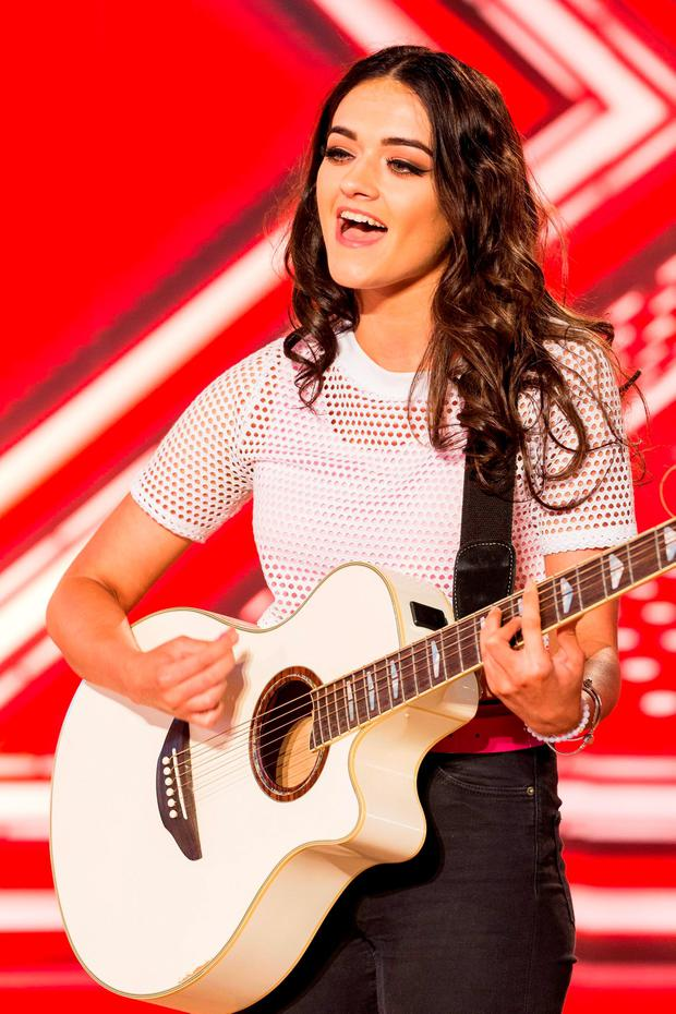 Emily Middlemas during the audition stage for the ITV1 talent show, The X Factor Credit: Syco/Thames TV/PA Wire