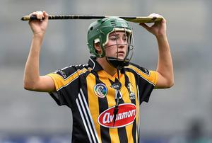 A dejected Denise Gaule, Kilkenny, after the game. Picture credit: Ramsey Cardy / SPORTSFILE