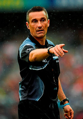 Referee Maurice Deegan's black card decisions were subject to discussion after Sunday's game