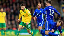 Hoolahan picked up an injury playing for Norwich