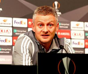 READY FOR ACTION: United manager Ole Gunnar Solskjaer has team prepared for the task ahead. Photo: Bradley Collyer/PA Wire