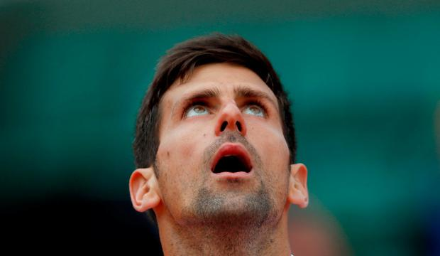Serbia's Novak Djokovic has not recovered from the elbow injury that has ruled him out since July. Reuters / Gonzalo Fuentes