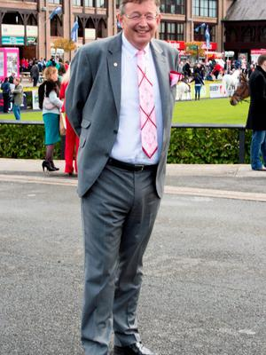 Gerald Kean at the opening day of the Punchestown Racing festival