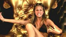 Nikki Grahame in the BB diary room