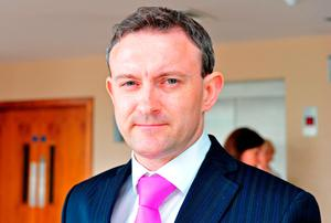 Dr James Gray, emergency consultant at Tallaght Hospital. Photo: Collins, Dublin.