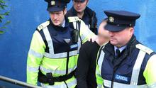 The defendant pictured at a previous court appearance at Longford District Court