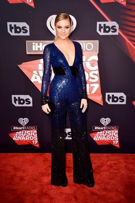 Singer Kelsea Ballerini attends the 2017 iHeartRadio Music Awards which broadcast live on Turner's TBS, TNT, and truTV at The Forum on March 5, 2017 in Inglewood, California.  (Photo by Alberto E. Rodriguez/Getty Images)