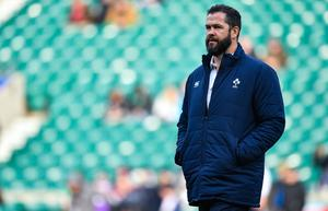 It is once again unclear whether Ireland's Six Nations game against France in Paris will go ahead. Photo by Brendan Moran/Sportsfile