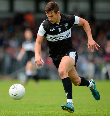 Niall Murphy's goal helped Sligo to a 12 points lead at the break. Photo: Oliver McVeigh/Sportsfile