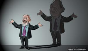 'Instead of rise and follow Charlie, it's rise and follow Gerry'