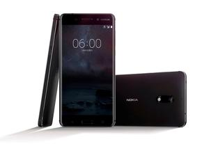 The new Nokia 6 smartphone. REUTERS