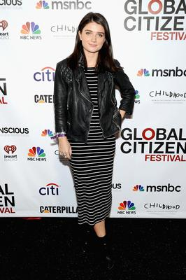 Eve Hewson attends the VIP Lounge at the 2014 Global Citizen Festival to end extreme poverty by 2030